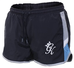Gym King Navy Nights Retro Swim Shorts