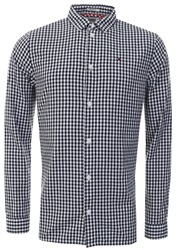 Hilfiger Denim Black Iris Essentials Gingham Check Shirt