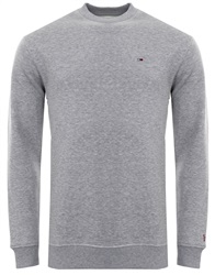 Hilfiger Denim Lt Grey Heather Classics Crew Neck Sweatshirt