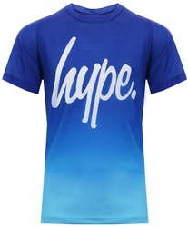 Hype Navy/Blue Fade Boys T-Shirt