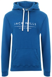 Jack Wills Marine Batsford Wills Popover Hoodie