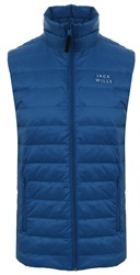 Jack Wills Marine Knole Lightweight Down Zip Up Gilet