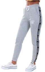 Siksilk Grey Marl Original Tape Joggers