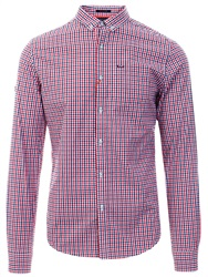 Superdry Lamont Red Check Ultimate University Oxford Shirt