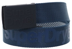 Superdry Navy Reversible Montana Belt