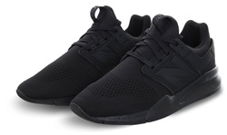 New Balance Black/Black 247 Revlite Trainer