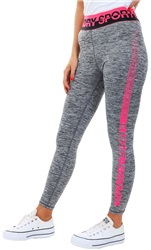 Superdry Black Marl Core 7/8 Leggings