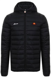 Ellesse Black Lombardy Padded Zip Up Jacket