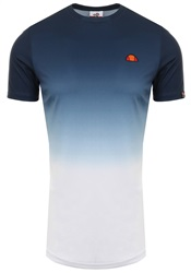 Ellesse Dress Blue Ovorio Faded Poly T-Shirt