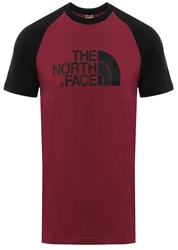 The North Face Rumba Red Raglan Easy Short Sleev T-Shirt