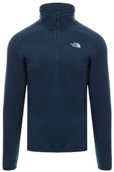 The North Face Urban Navy 100 Glacier Fleece Zip Jacket