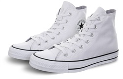 Converse White/Black Chuck Taylor All Star Sparkle High Top