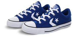 Converse Blue/White Star Player Premium Suede