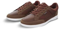 Jack & Jones Brown / Cognac Byson Lace Up Casual Sneakers