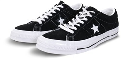 Converse Black/White (Mens) One Star Premium Suede