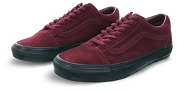 Vans Port Royale Suede Black Outsole Old Skool Shoes