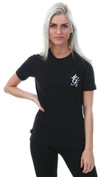 Gym King Black Gk Corin Short Sleeve T-Shirt