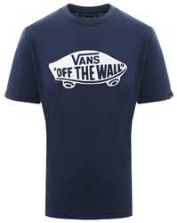 Vans Dress Blue Kids Otw Logo Fill T-Shirt