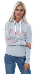 Superdry Track Star Grey Track & Field Hoodie
