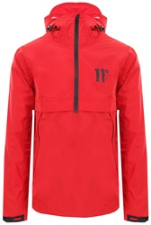 11degrees Red Waterproof Hurricane Jacket