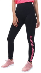 Superdry Black Core Essential Leggings
