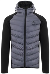 Gym King Dark Grey Bones Padded Jacket