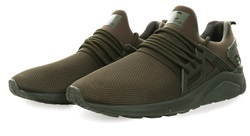 Certified Khaki/Mono Sock Runner Trainer