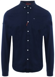 Superdry Indigo Ultimate Herringbone Shirt
