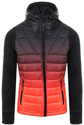 Superdry Black Granite Ombre Storm Hybrid Jacket