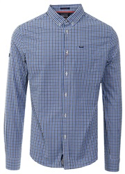 Superdry Lamont Blue Check Ultimate University Oxford Shirt
