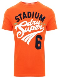 Superdry Pitch Orange Field Retro T-Shirt