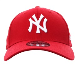 New Era Scarlet Ny Yankees Essential 9forty