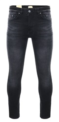 Dv8 Black Fadded Stone Wash Skinny Jean