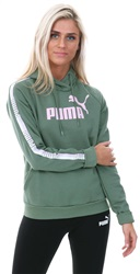 Puma Laurel Wreath Tape Fleece Hoodie