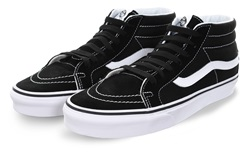 Vans Black/White Sk8 - Mid Reissue Shoe