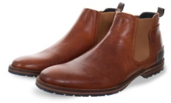 Bull Boxer Brown 2499 Slip On Boot