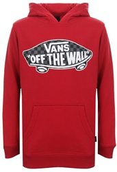 Vans Chilli Pepper Kids Otw Pullover Fleece Hoodie