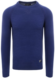 Broken Standard Marazine Blue Knitted Sweater