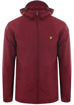 Lyle   Scott Claret Jug Microfleece Lined Zip Through Jacket e515da37c