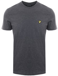 Lyle & Scott Charcoal Marl Crew Neck Short Sleeve T-Shirt