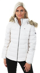 Hilfiger Denim Pumice Stone Sustainable Padded Down Jacket
