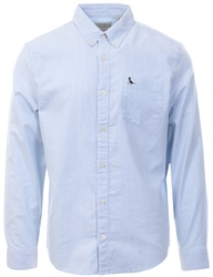 Jack Wills Sky Blue Wadsworth Stripe Oxford Shirt