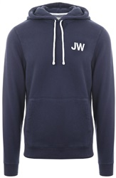 Jack Wills Navy Batsford Wills Popover Hoodie