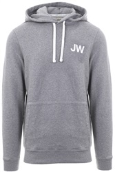 Jack Wills Grey Batsford Wills Popover Hoodie