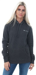 Jack Wills Charcoal Marl Crail Wills Logo Hoodie