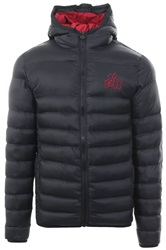 Bee Inspired Black Coast Puffer Padded Jacket