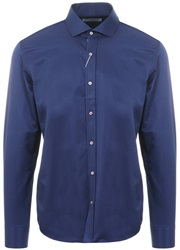 Ottomoda Navy L/Sleeve Button Down Shirt