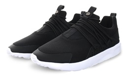 11degrees Black Halo Runner Trainer