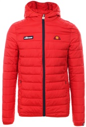 Ellesse Red Lombardy Padded Zip Up Jacket