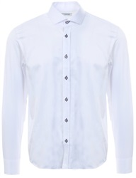 Ottomoda White L/Sleeve Button Down Shirt